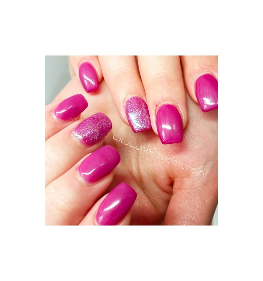 Dorable Young Nails Cover Pink Motif - Nail Art Ideas - morihati.com
