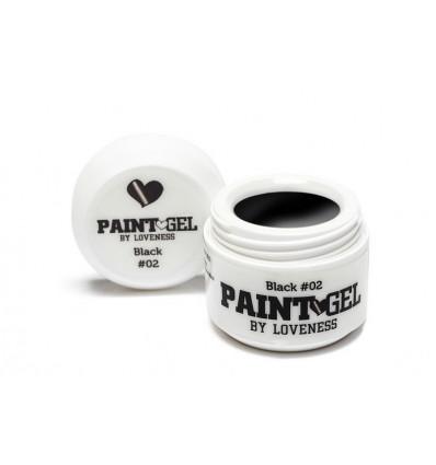LoveNess Love 2 Paint Gel Black 5gr