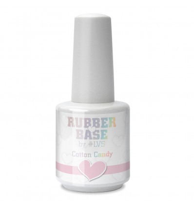 LoveNess Love 2 Rubber Base Cotton Candy 15ml