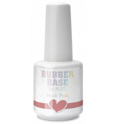 LoveNess Love 2 Rubber Base Mask Pink 15ml
