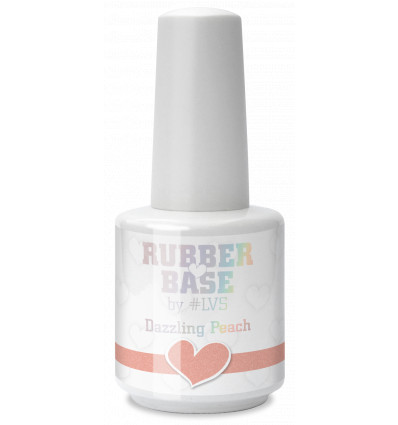 Rubber Base by LVS Dazzling Peach