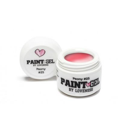 Loveness Paint Gel Peony 25 5gr