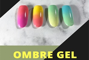Ombre gel workshop
